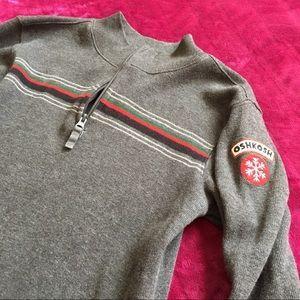 OshKosh • Boys Sweater with Quarter Zip